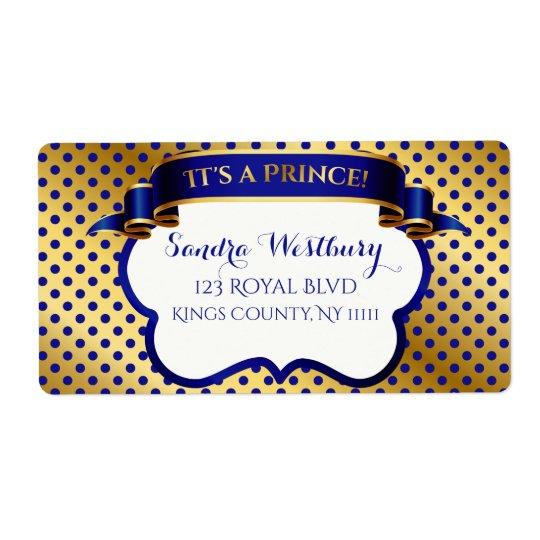 Etiqueta El oro del príncipe azul real le agradece