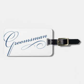 Etiqueta elegante del equipaje del soltero del pad etiqueta de equipaje