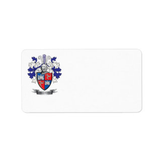 Etiqueta Escudo de armas del escudo de la familia de McLeod