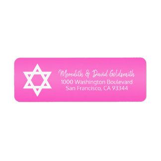 Etiqueta Estrella de las rosas fuertes del remite de