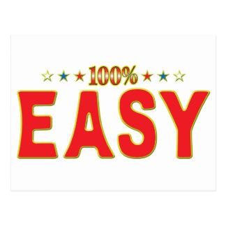 Etiqueta fácil de la estrella postales
