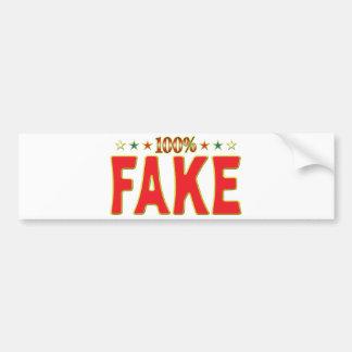 Etiqueta falsa de la estrella pegatina para coche