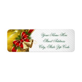 Etiqueta Felices Navidad de Belces del oro
