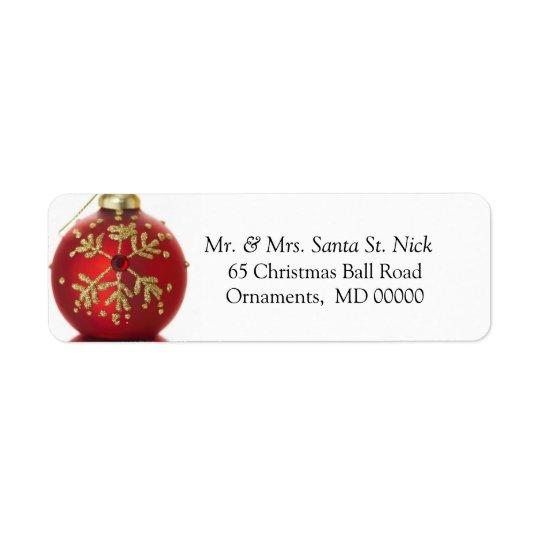 Etiqueta Felices Navidad modificados para requisitos