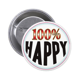Etiqueta feliz pin