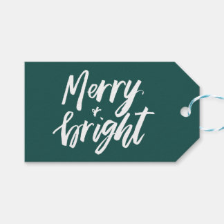 Etiqueta feliz y brillante del regalo