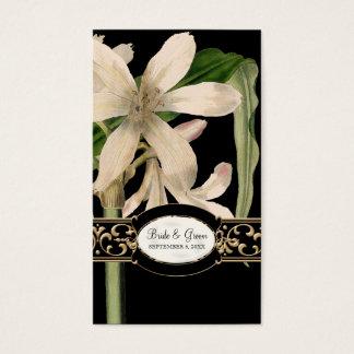 Etiqueta formal del regalo del favor del boda del