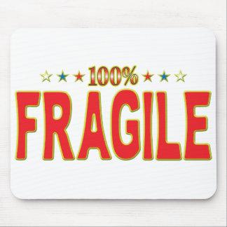 Etiqueta frágil de la estrella