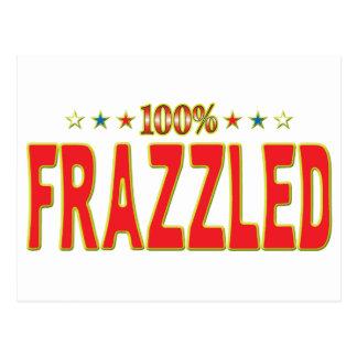 Etiqueta Frazzled de la estrella Postales