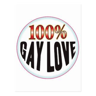 Etiqueta gay del amor postales