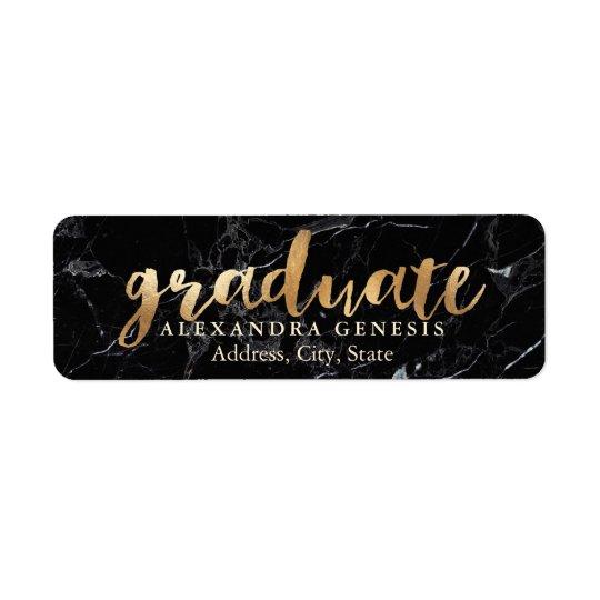 Etiqueta Graduación de PixDezines/falsa fuente de la