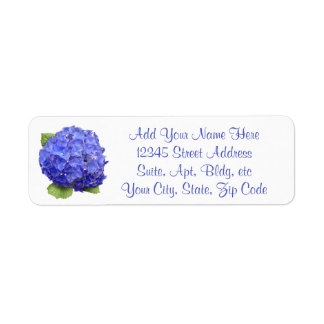 Etiqueta Hydrangea floral