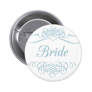 Etiqueta/insignia conocidas de la novia pin