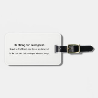 Etiqueta inspirada del equipaje de la escritura