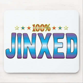 Etiqueta Jinxed v2 de la estrella Alfombrillas De Raton