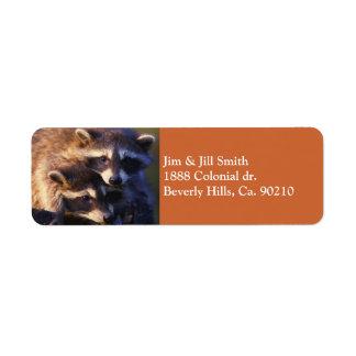 Etiqueta Junto para siempre mapaches