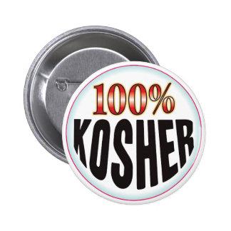 Etiqueta kosher pins