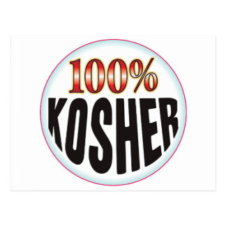 Etiqueta kosher postal