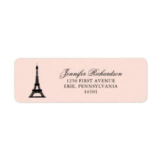Etiqueta La elegancia de París se ruboriza rosa con la