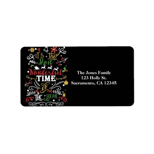 Etiqueta La mayoría de la hora maravillosa de la tarjeta de