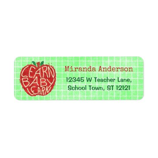 Etiqueta La sala de clase Apple el | de la escuela del