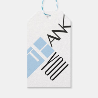 Etiqueta le agradece etiquetas para regalos
