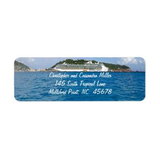 Etiqueta Libertad en St. Maarten personalizado
