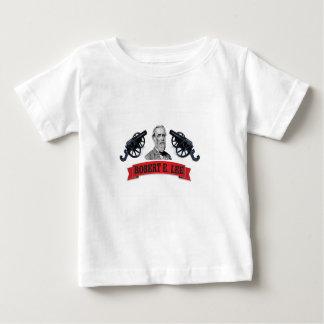 etiqueta llevada roja de la bandera camiseta de bebé