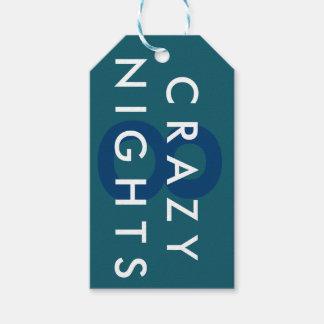Etiqueta loca del regalo de las noches de Jánuca 8