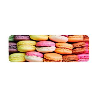 Etiqueta Macaron francés