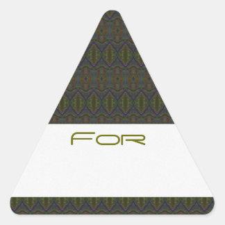 Etiqueta modelada diamante del regalo del ojo del