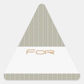 Etiqueta modelada diamante gris del regalo de la p