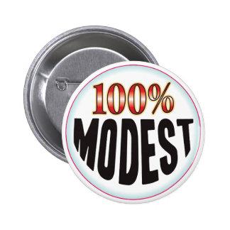Etiqueta modesta pin