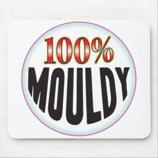 Etiqueta mohosa tapete de ratones