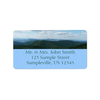 Etiqueta Montañas apalaches I Shenandoah