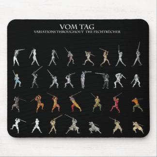 Etiqueta Mousepad de Vom