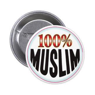 Etiqueta musulmán pin