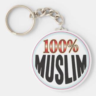 Etiqueta musulmán llaveros personalizados