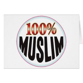 Etiqueta musulmán felicitaciones