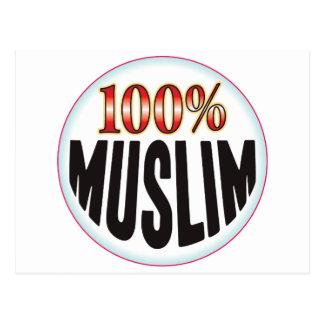 Etiqueta musulmán postal