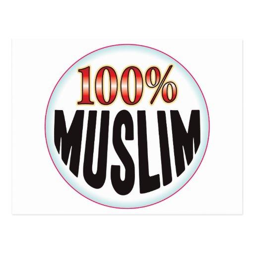 Etiqueta musulmán tarjetas postales