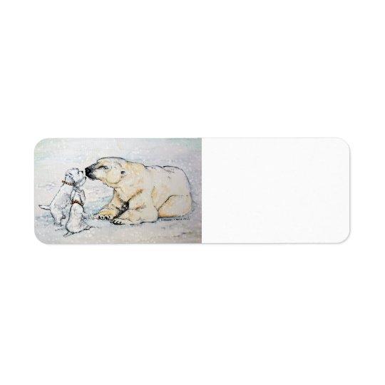 Etiqueta Oso polar Westies