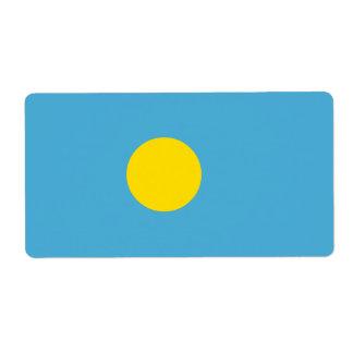 Etiqueta Palau señala por medio de una bandera