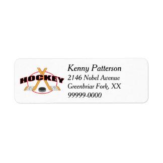 Etiqueta Palillos de hockey y línea del duende malicioso 4