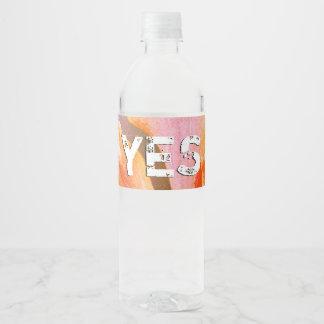 Etiqueta Para Botella De Agua Alabanza del salmo 103 el señor, mi alma