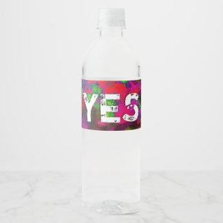 Etiqueta Para Botella De Agua Capítulo 2 de la revelación