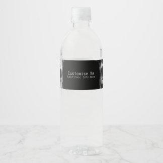 Etiqueta Para Botella De Agua Original radiografiada