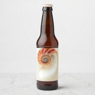 Etiqueta Para Botella De Cerveza Shell de la vida