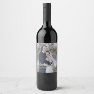 Etiqueta Para Botella De Vino Boda de Everly