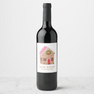 Etiqueta Para Botella De Vino Caliente los deseos